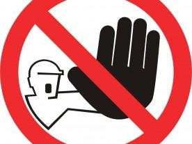 Verboden toegang Clevers Asbestsanering