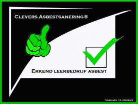 Erkend leerbedrijf Clevers Asbestsanering