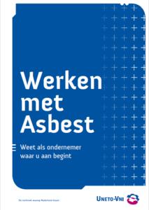 Werken met asbest